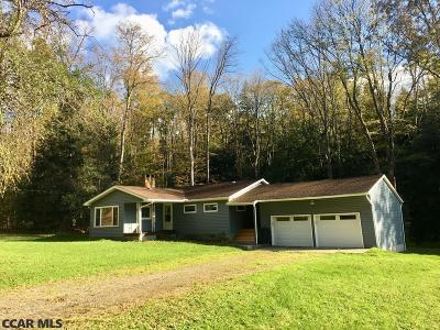 Single Family Home For Sale: 884 Lee Run Road