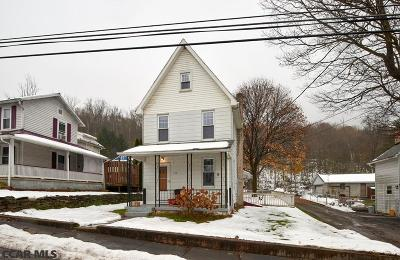 Bellefonte Single Family Home For Sale: 137 Upper Coleville Road