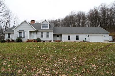Single Family Home Sold: 1377 Decker Hollow Road