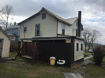 Blanchard PA Single Family Home For Sale: $49,900