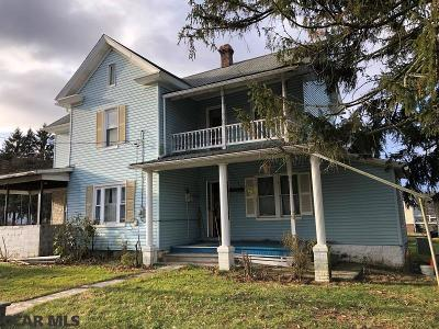 McClure PA Single Family Home For Sale: $56,000
