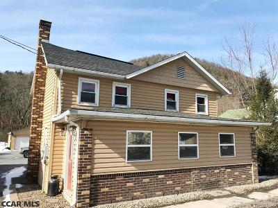 Millheim PA Single Family Home For Sale: $169,000