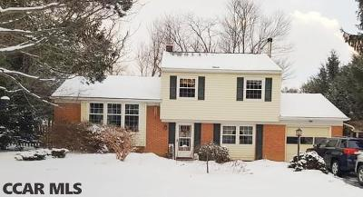 State College PA Single Family Home For Sale: $312,500