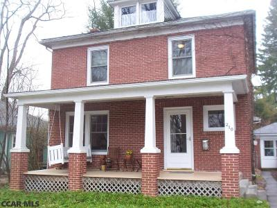 State College Single Family Home For Sale: 210 Hartswick Avenue