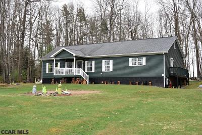 Single Family Home For Sale: 424 Pinchy Road