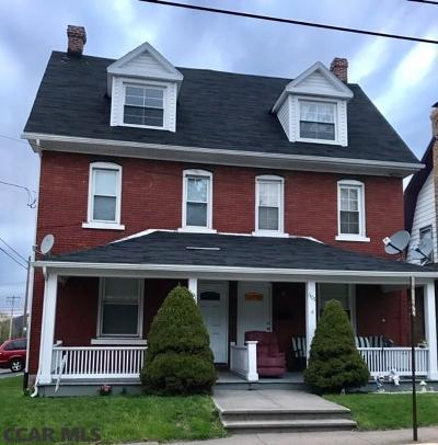 Bellefonte Single Family Home For Sale: 601-603 Bishop Street E