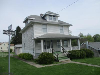 Bellefonte PA Single Family Home For Sale: $149,900
