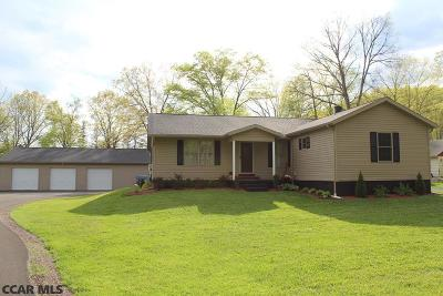 Tyrone Single Family Home For Sale: 139 Vanscoyoc Hollow Road