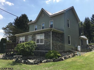 Philipsburg Single Family Home For Sale: 3322 Six Mile Road
