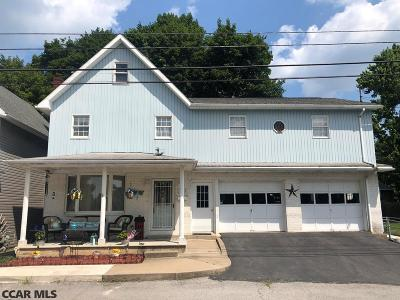 Bellefonte PA Single Family Home For Sale: $209,000