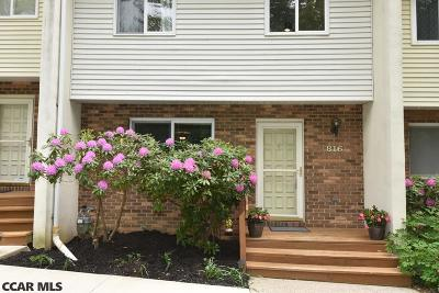 State College Condo/Townhouse For Sale: 816 Galen Drive #3