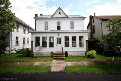 Reedsville Single Family Home For Sale: 29 Pearl Street