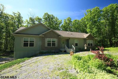 Philipsburg Single Family Home For Sale: 2916 Tyrone Pike