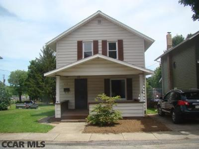Philipsburg Single Family Home For Sale: 218 11th Street