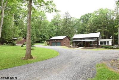 Single Family Home For Sale: 195 Sand Mountain Road