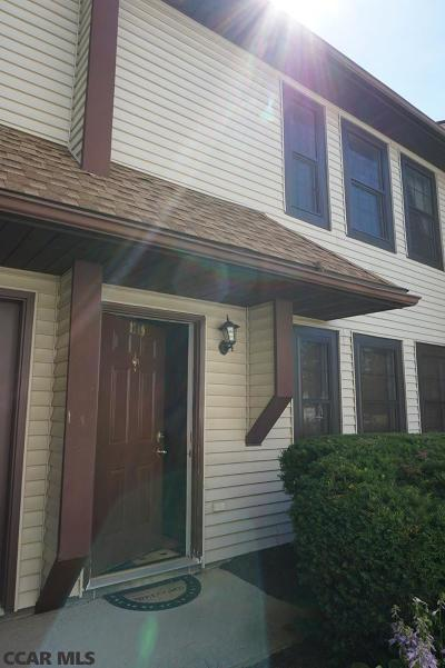 Boalsburg, State College Condo/Townhouse For Sale: 1749 Blue Course Drive