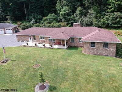 Centre County Single Family Home For Sale: 5272 Minemier Gap Lane