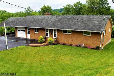 Reedsville PA Single Family Home For Sale: $154,900