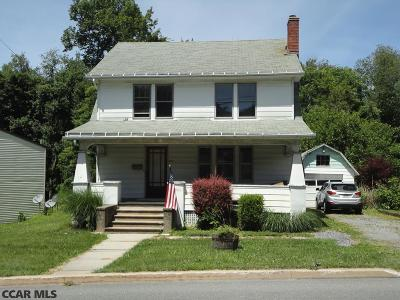 Pleasant Gap PA Single Family Home For Sale: $163,000
