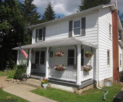 Milesburg PA Single Family Home For Sale: $110,000