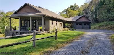 Single Family Home For Sale: 1019 Steele Hollow Road