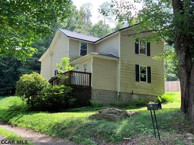 Single Family Home For Sale: 123 Jacks Run Road