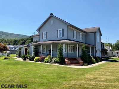 McClure Single Family Home For Sale: 42 W Railroad Street W