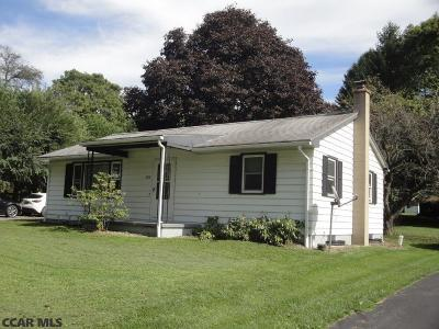 Centre County Single Family Home For Sale: 2068 Halfmoon Valley Road