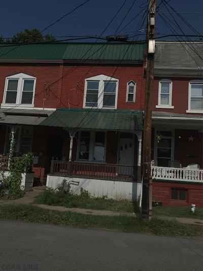 Philipsburg Single Family Home For Sale: 124 S Second Street