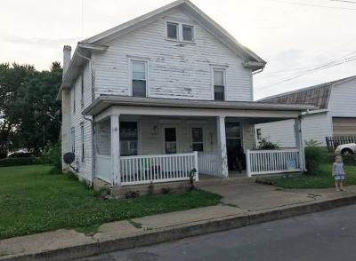 Port Royal Single Family Home For Sale: 210&212 Second Street