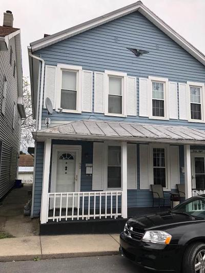 Lewistown PA Single Family Home For Sale: $33,900
