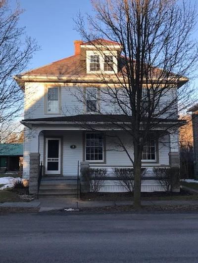 Reedsville Single Family Home For Sale: 39 Pearl Street
