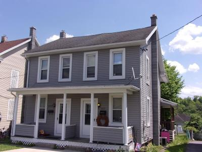 Lewistown PA Single Family Home For Sale: $72,900