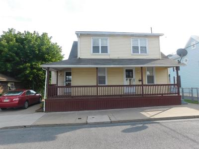 Lewistown PA Single Family Home For Sale: $54,000
