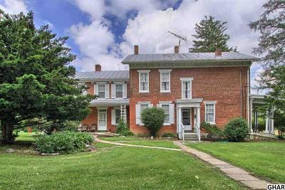Single Family Home For Sale: 2955 Ritner Highway
