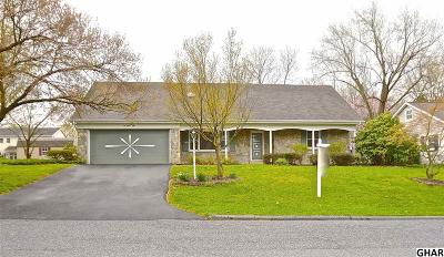 Hershey Single Family Home For Sale: 250 Highland Road