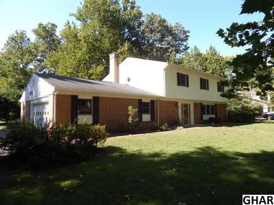 Single Family Home For Sale: 820 Conodoguinet Drive