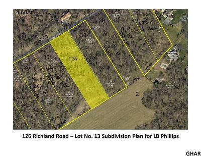 Carlisle Residential Lots & Land For Sale: 126 Richland Road (Lot 13)