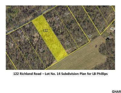 Carlisle Residential Lots & Land For Sale: 122 Richland Road (Lot 14)
