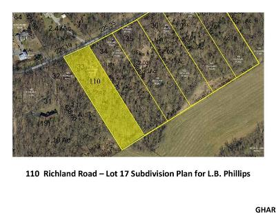 Carlisle Residential Lots & Land For Sale: 110 Richland Road (Lot 17)