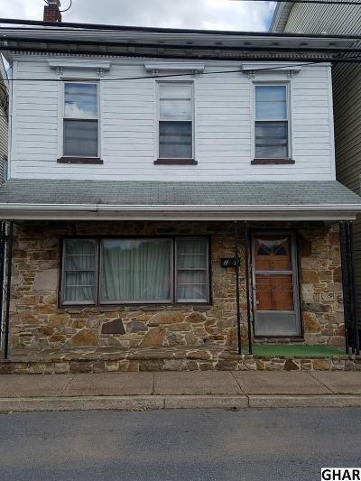 Duncannon Single Family Home For Sale: 24 N High Street