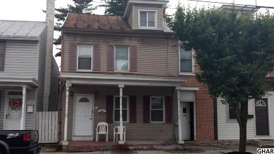 Mount Holly Springs Single Family Home Active/Pending Tbo: 37 N Baltimore Avenue