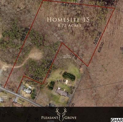 Mechanicsburg Residential Lots & Land For Sale: Homesite 15 Pleasant Grove
