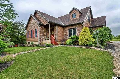 Single Family Home For Sale: 1984 Fish And Game Road