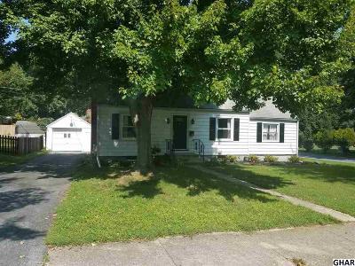 Lemoyne Single Family Home For Sale: 512 Warren Street