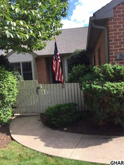 Hershey Single Family Home For Sale: 30 Cambridge Drive