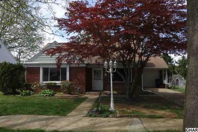 Lemoyne Single Family Home For Sale: 531 Walton St
