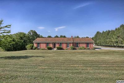 Hummelstown Single Family Home For Sale: 95 Stone Mill Road