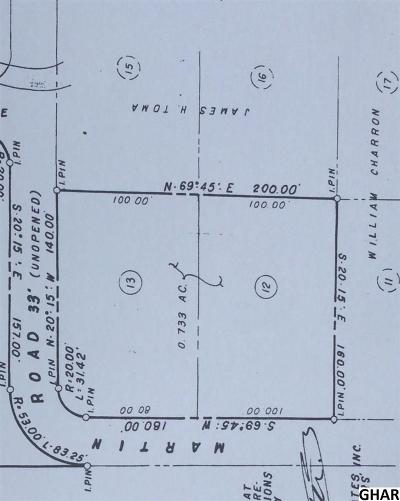 Mechanicsburg Residential Lots & Land For Sale: Lot 12 And 13 Martin Road