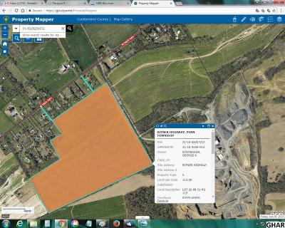 Residential Lots & Land For Sale: Ritner Hwy